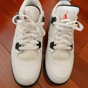 Jordan White Cement 4s in Size 6.5